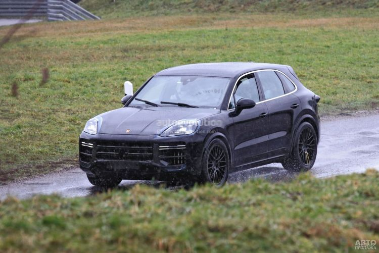 Porsche Cayenne пройдет обновление