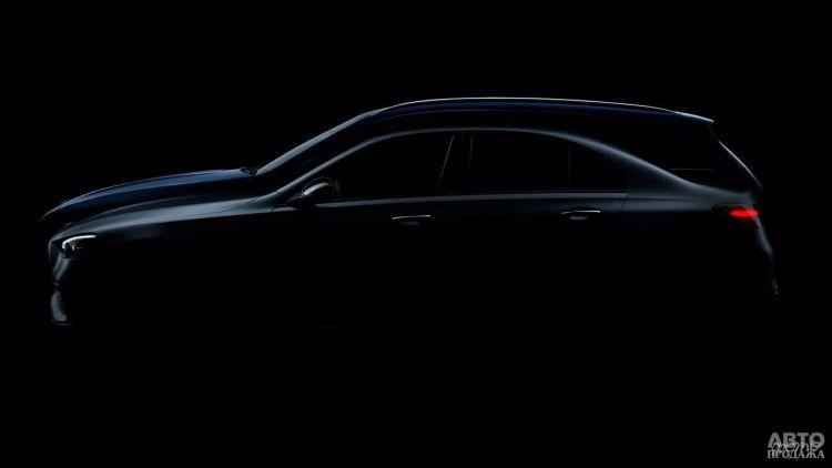 Первое изображение нового Mercedes-Benz C-Class