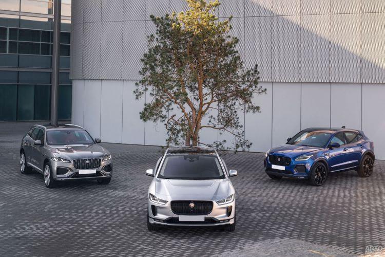 Jaguar F-Pace: элегантный и практичный