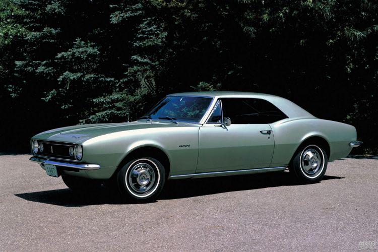 Первый Chevrolet Camaro 1967 года