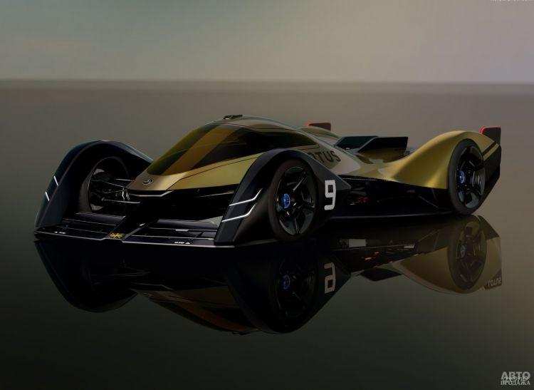 Lotus показал прототип электрического спорткупе