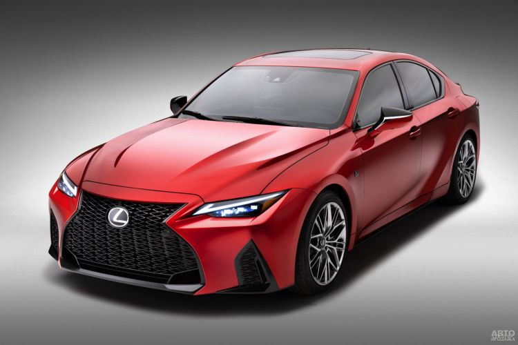 Lexus IS 500 F Sport Performance: спорт-седан старой школы