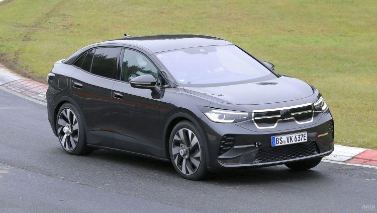 Новый электромобиль Volkswagen засняли на тестах