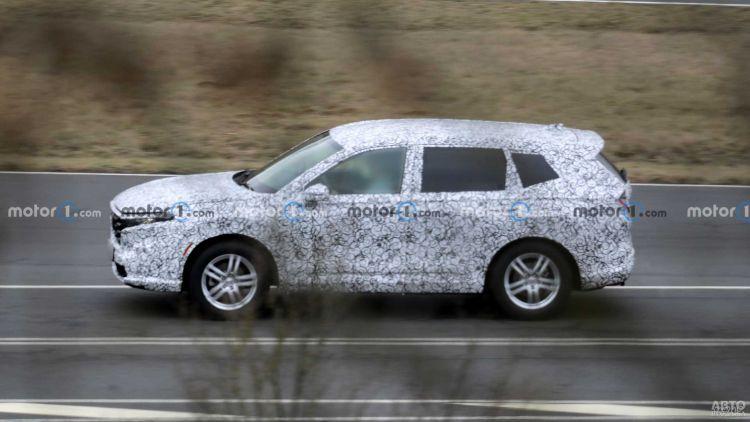 Новая Honda CR-V дебютирует в 2022 году