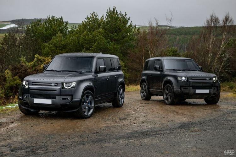 Land Rover Defender V8: скоростной покоритель бездорожья