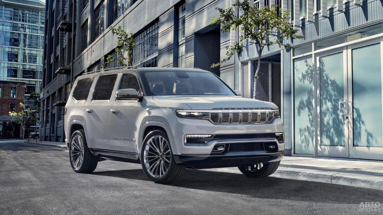 Jeep представит новую флагманскую модель