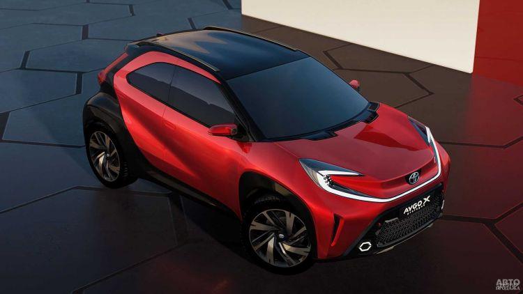 Toyota Aygo станет вседорожником