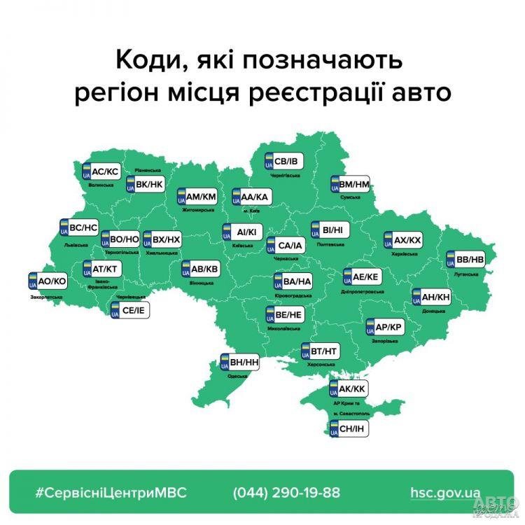 В Украине изменен порядок выдачи номеров авто