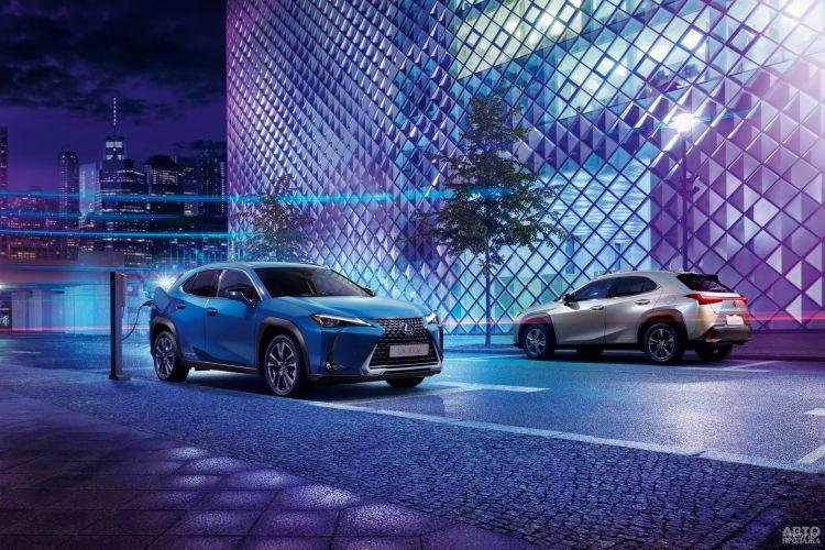Lexus UX 300e: старт электрификации