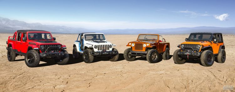 Вседорожная шестерка Jeep