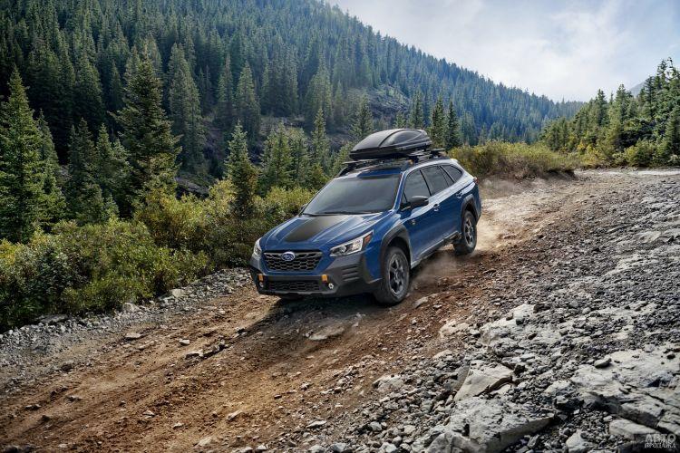 Subaru Outback получил версию для бездорожья
