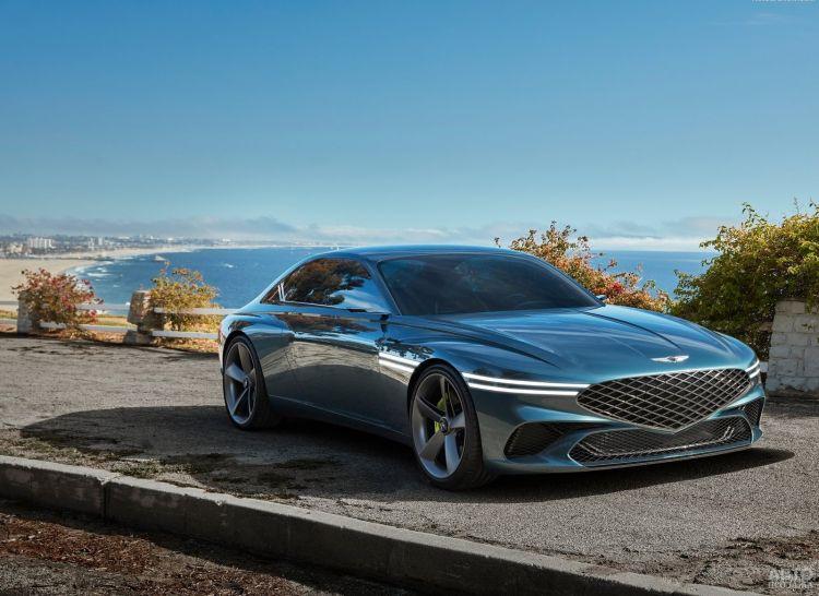 Hyundai готовит роскошное электрическое спорткупе