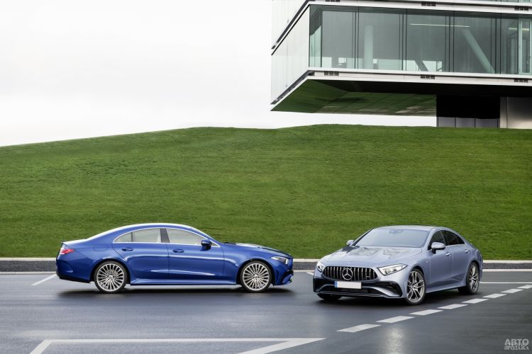 Mercedes-Benz CLS: обновление
