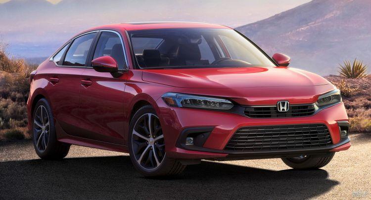 Новый Honda Civic показали на первом официальном фото