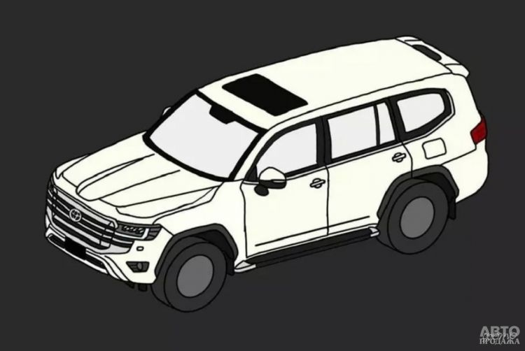 Рассекречен новый Toyota Land Cruiser 300