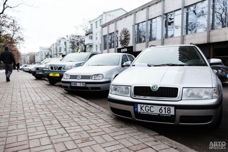 В Украине снизили стоимость растаможки авто на еврономерах