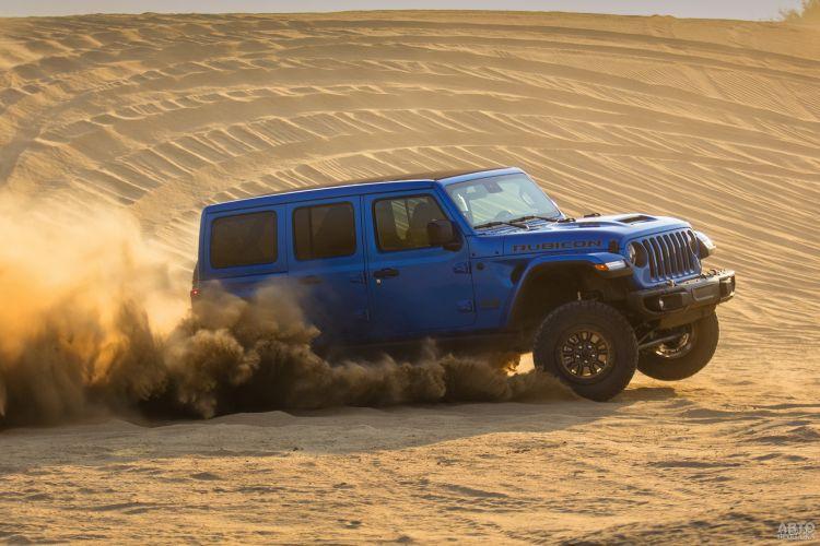 Jeep Wrangler Rubicon 392: самый мощный в истории