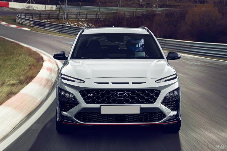 Hyundai Kona N: самый быстрый в линейке