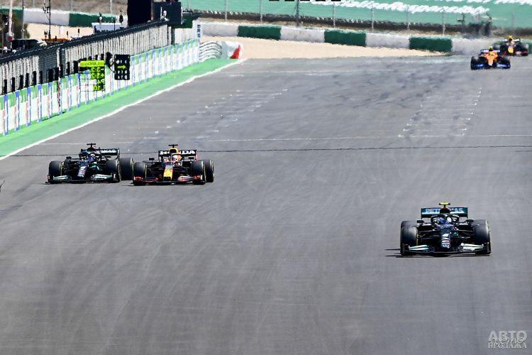 Формула-1: победа Хэмилтона в Португалии
