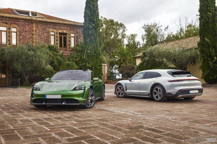 Porsche Taycan Cross Turismo: быстрый и практичный электромобиль