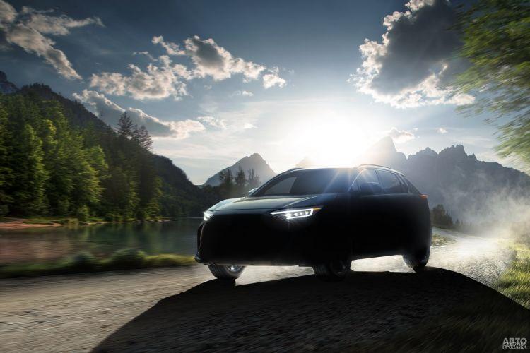 Первые фото электромобиля Subaru Solterra