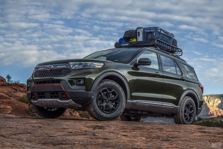 Ford Explorer Timberline: для активного отдыха