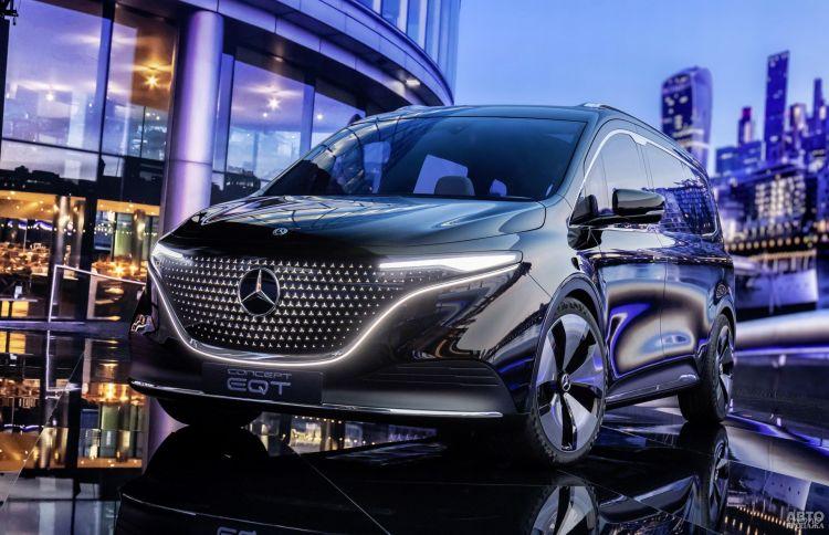 Mercedes-Benz Concept EQT: предвестник нового электромобиля