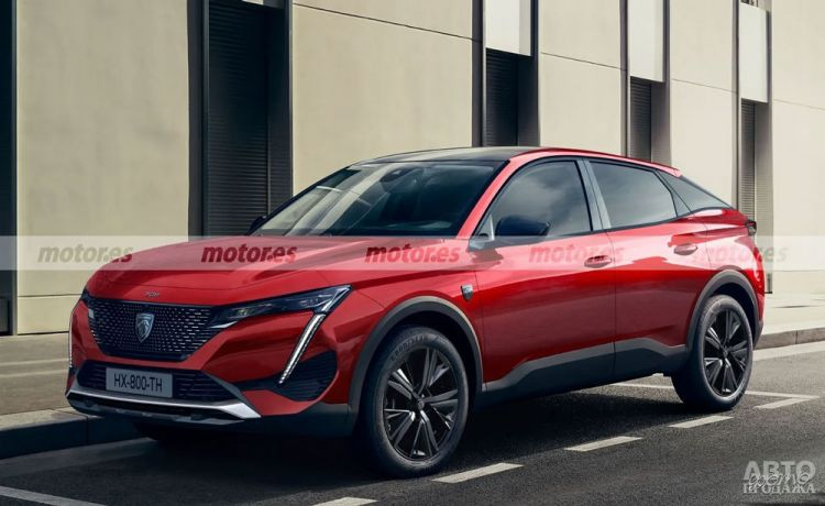 Peugeot готовит вседорожное купе