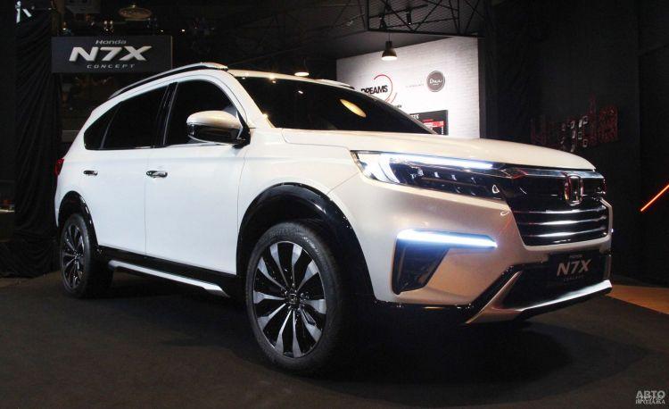 Honda предложит недорогой семиместный вседорожник