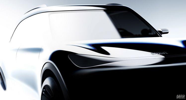 Электрический вседорожник Smart представят в 2023 году