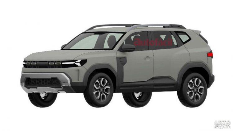 Первые изображения нового Dacia Bigster