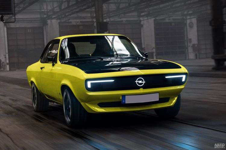 Opel Manta GSe ElektroMOD: классика на новый лад