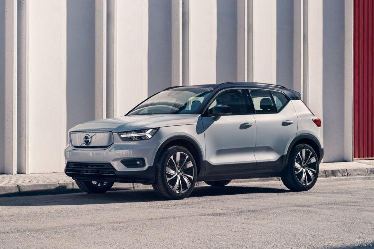 В Украине поступит в продажу первый электромобиль Volvo