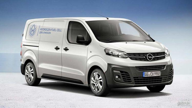 Opel представил водородный фургон