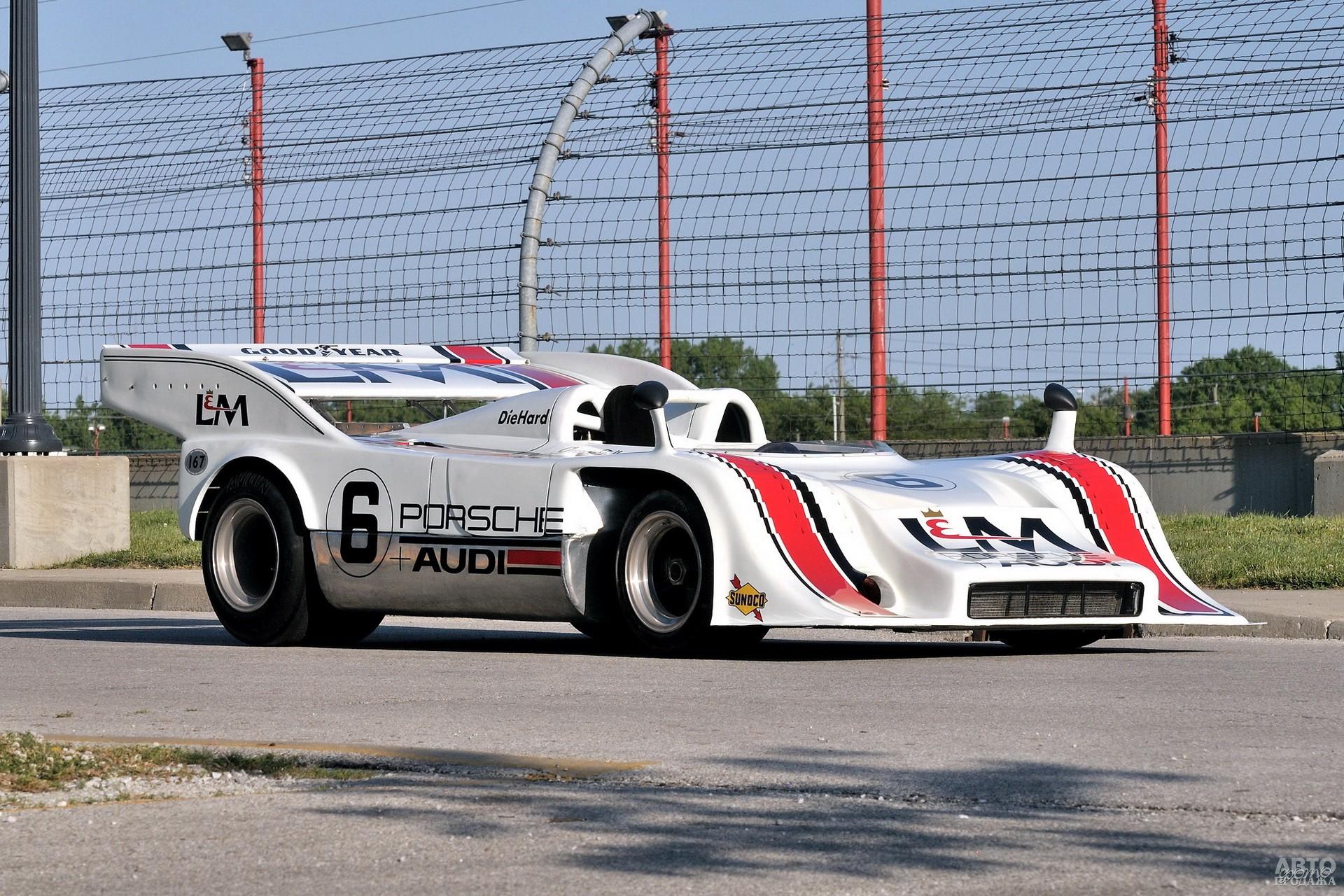 Porsche 917/10 принес в 1972 году Джорджу Фоллмеру чемпионский титул в серии Can-Am