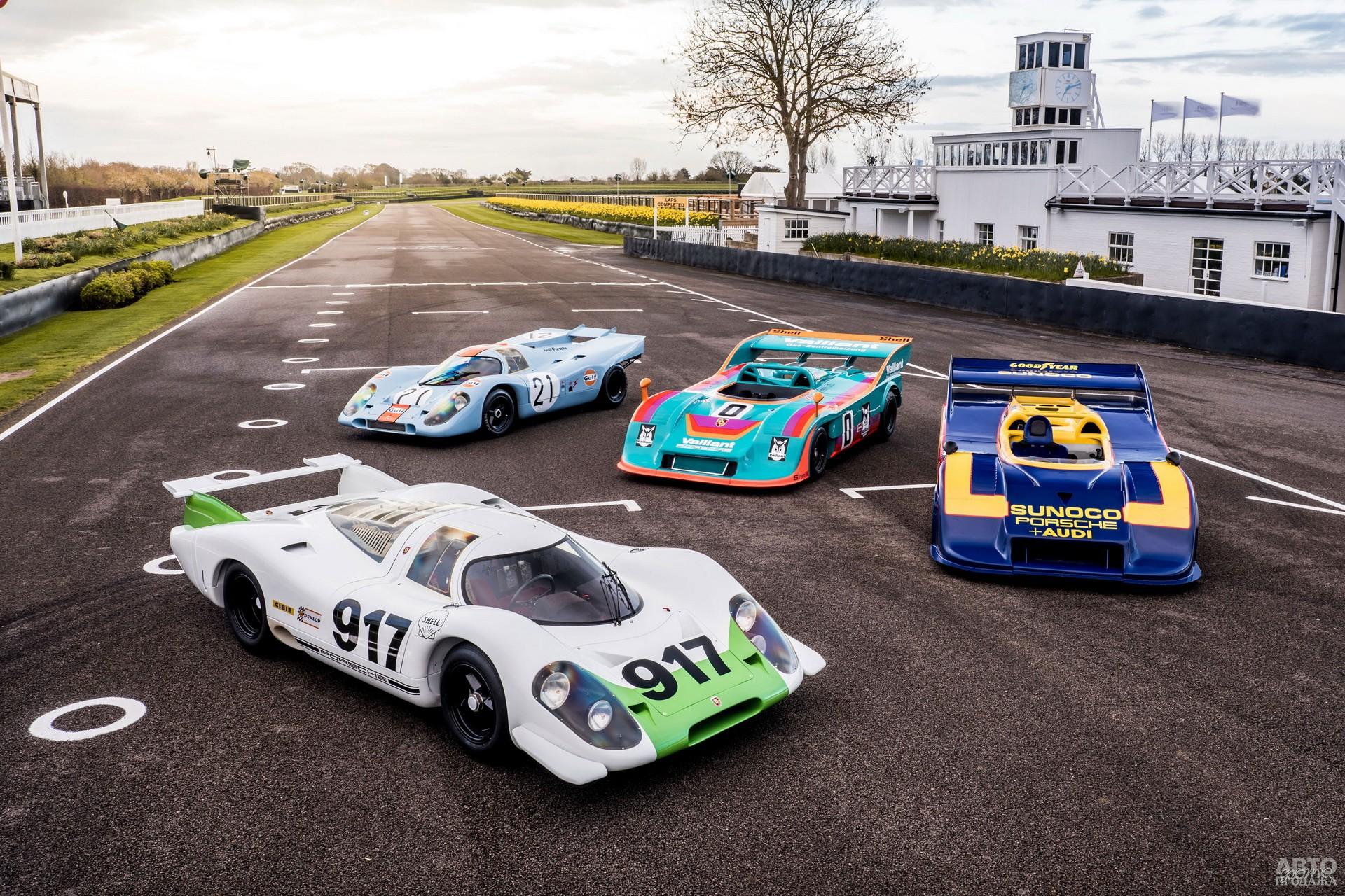 Porsche 917 не знал равных в гонках спортпрототипов