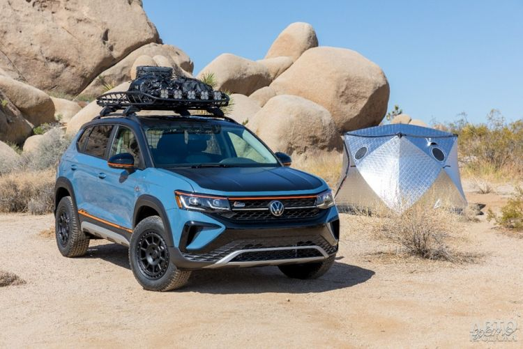 Volkswagen Taos подготовили к тяжелому бездорожью