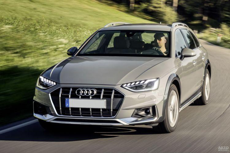 Audi A4 Allroad Quattro, Subaru Outback и Volvo V60 Cross Country: универсалы для бездорожья
