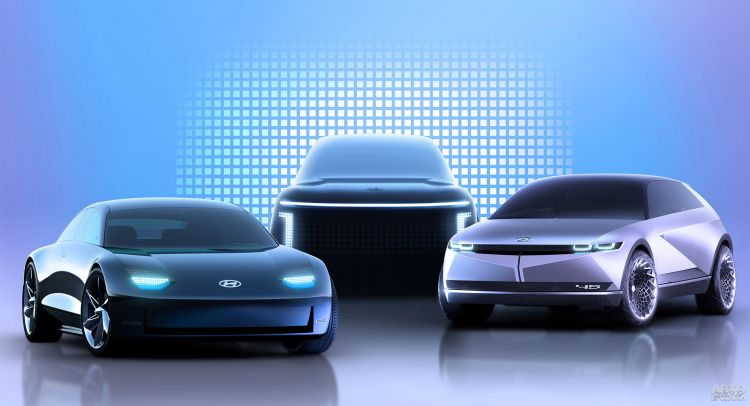 В Hyundai рассказали о двух новых электромобилях