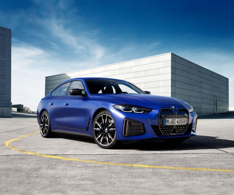 BMW представили свой самый быстрый электромобиль