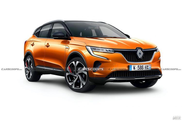 Первые изображения нового Renault Kadjar