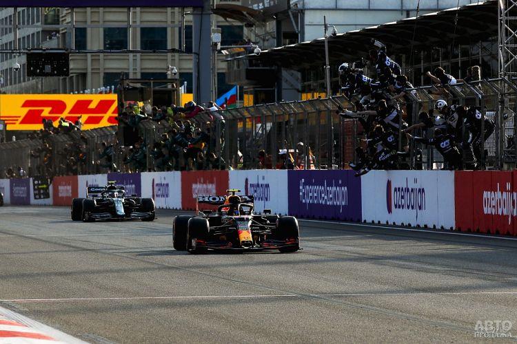 Формула-1: неожиданная победа Переса в Баку