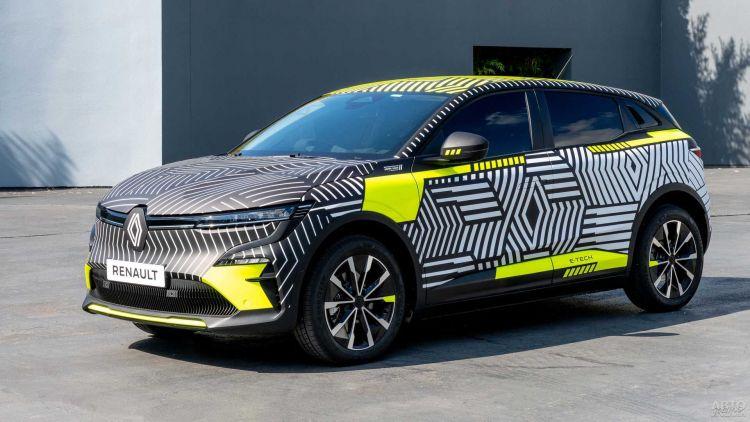 Новый Renault Megane показали перед премьерой