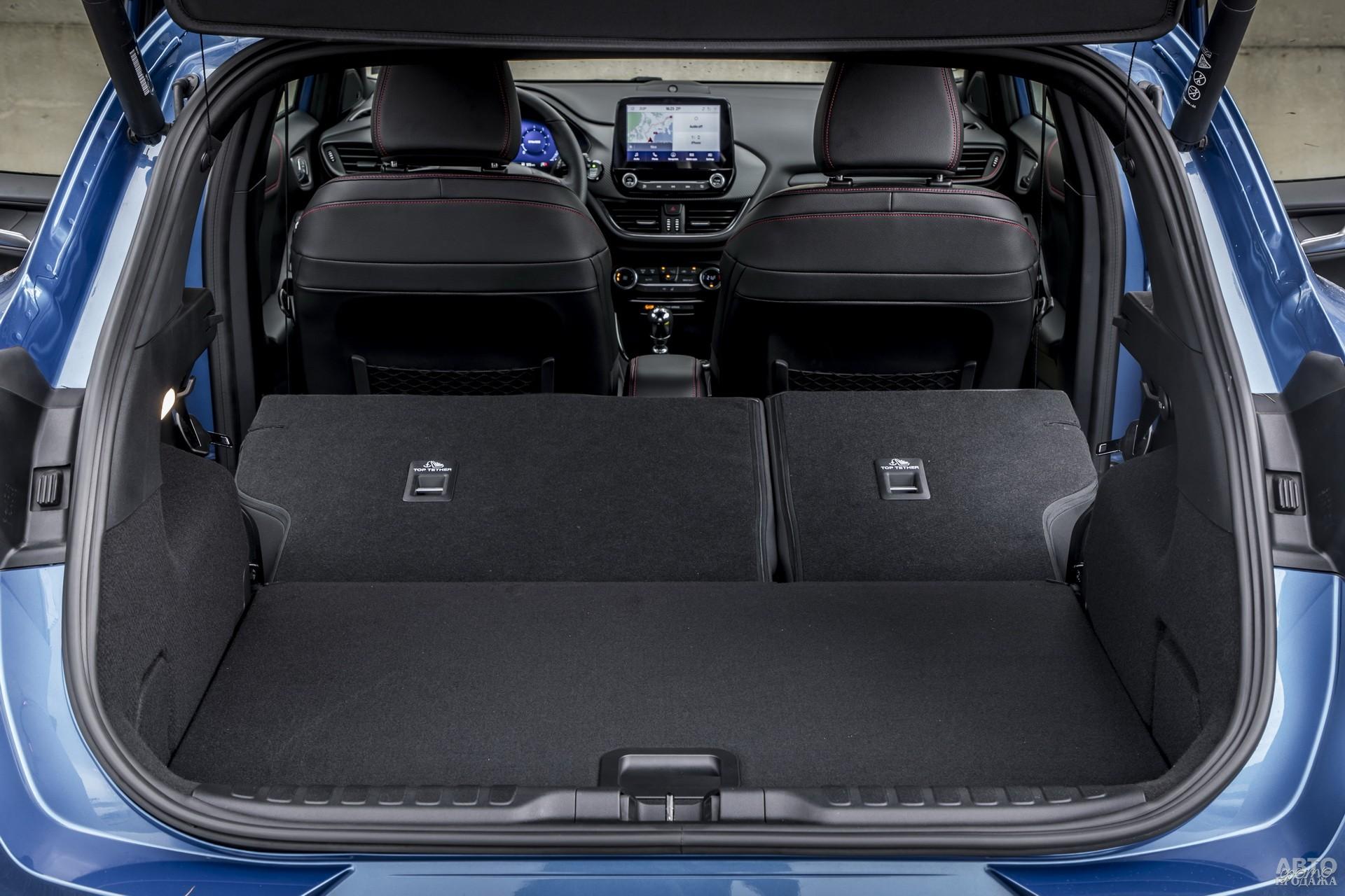 Багажник Fоrd самый вместительный – 456 л