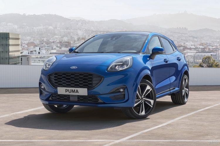 Ford Puma, Opel Mokka и Volkswagen T-Cross: компактные вседорожники для города