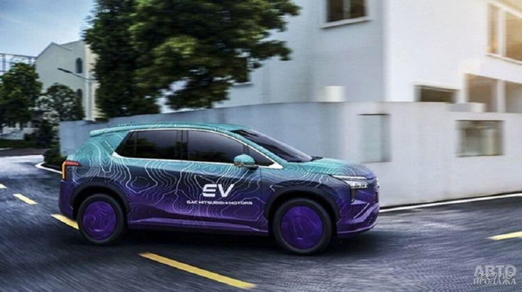 Mitsubishi готовит свой первый электрический вседорожник