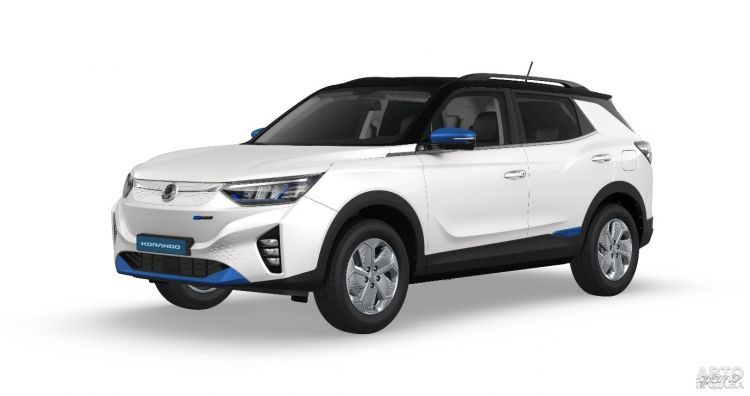SsangYong показал первый электромобиль