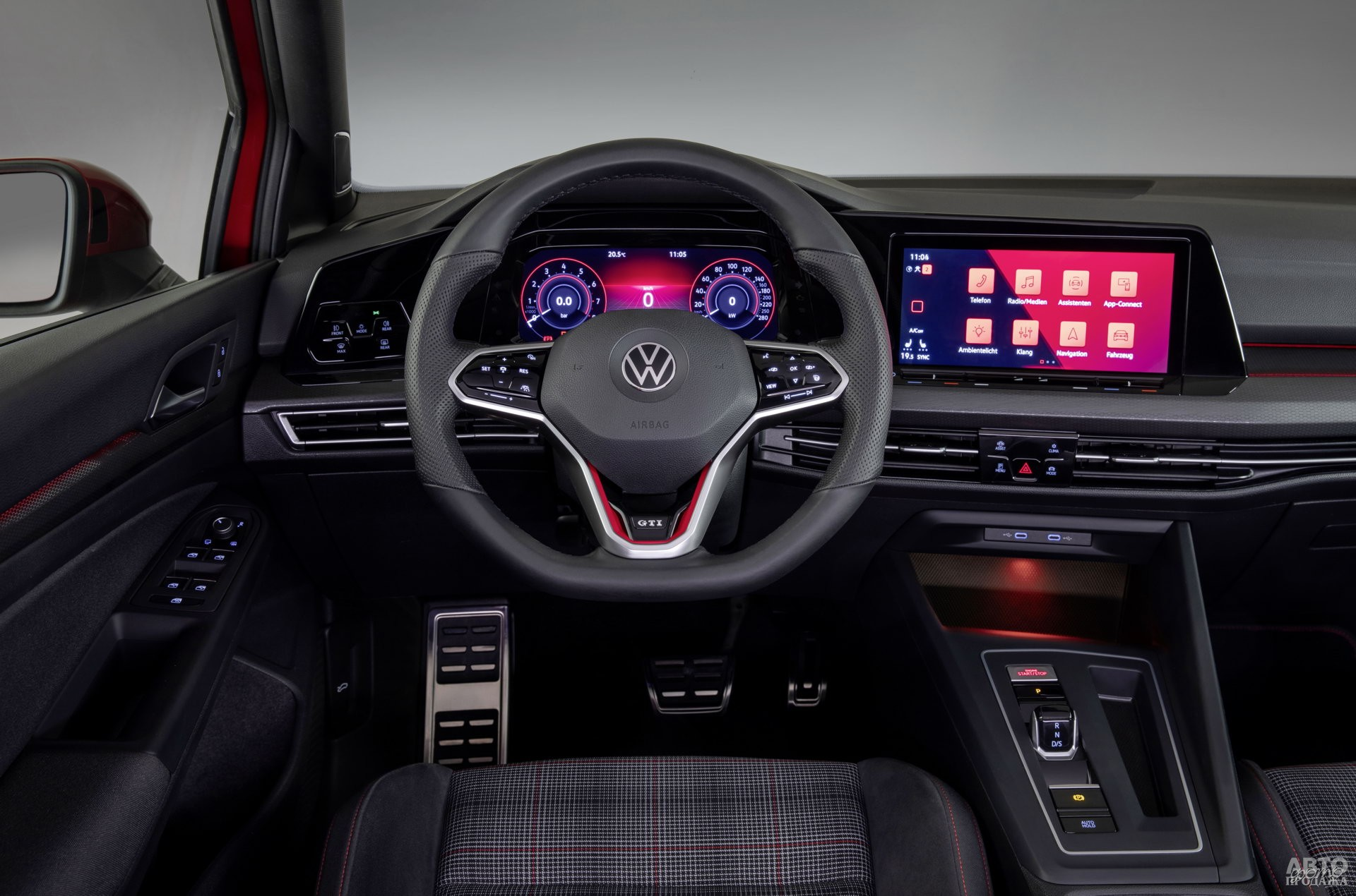 У Volkswagen – нестандартный миниатюрный селектор трансмиссии
