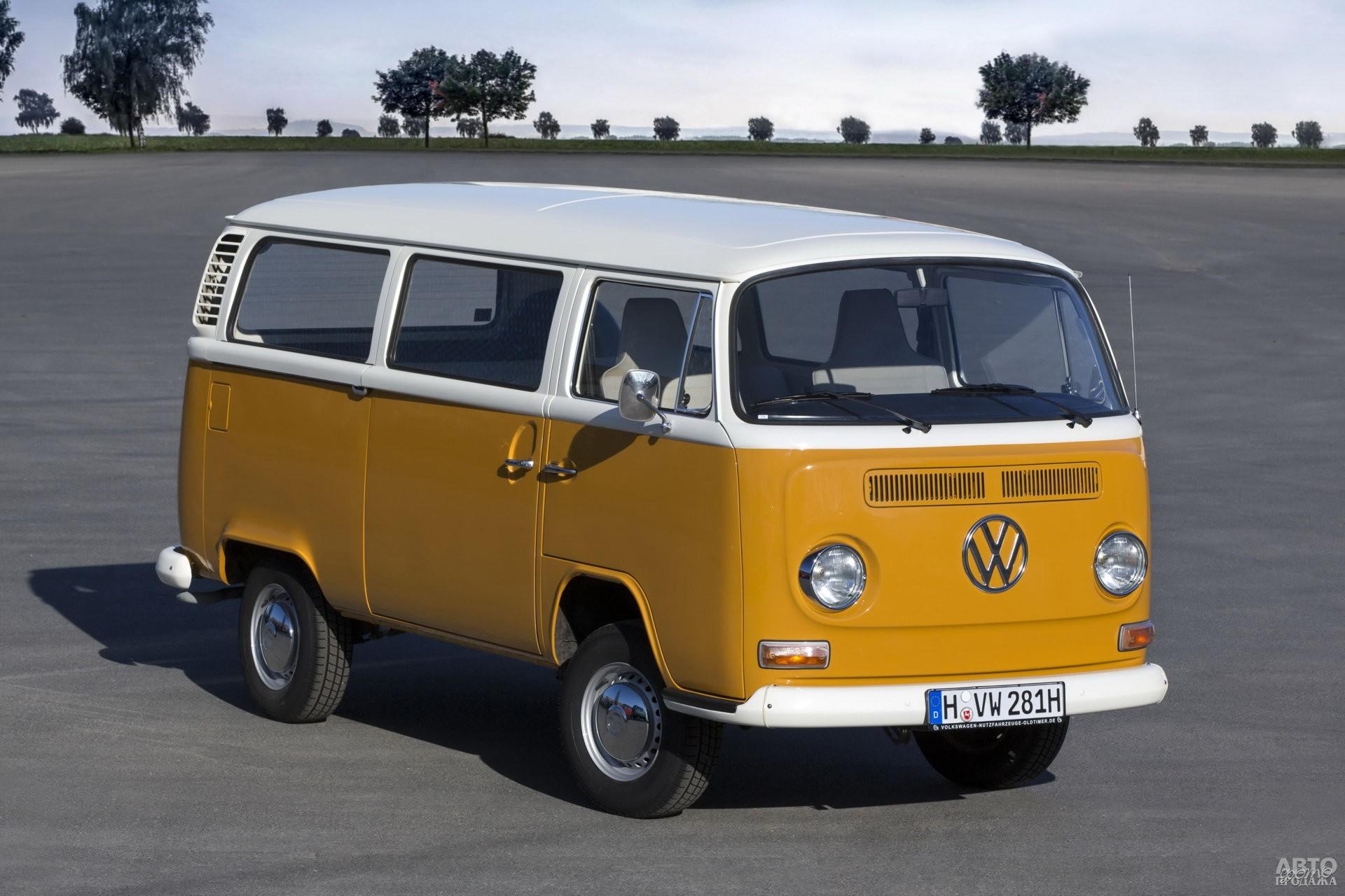Volkswagen T2 представили в 1967 году