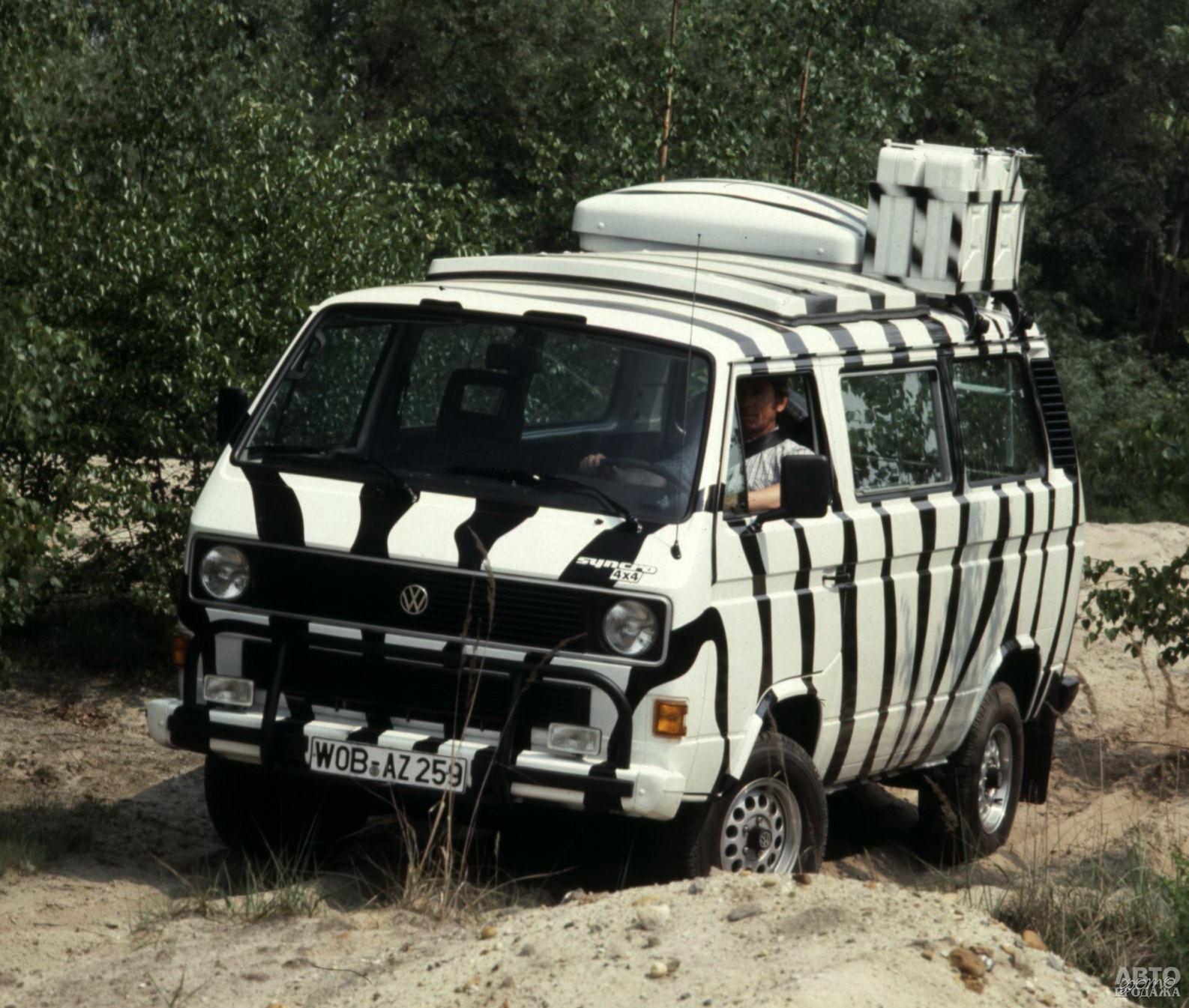Полноприводной Volkswagen T3 Syncro